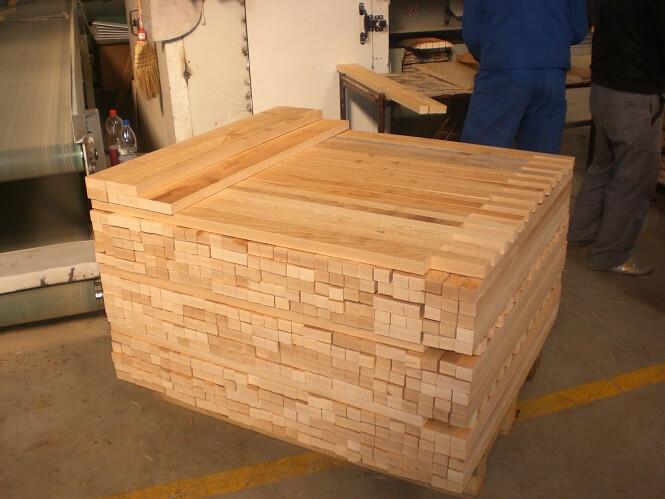 אלמנטים מעץ בוק - חיתוך עץ לפי מידה