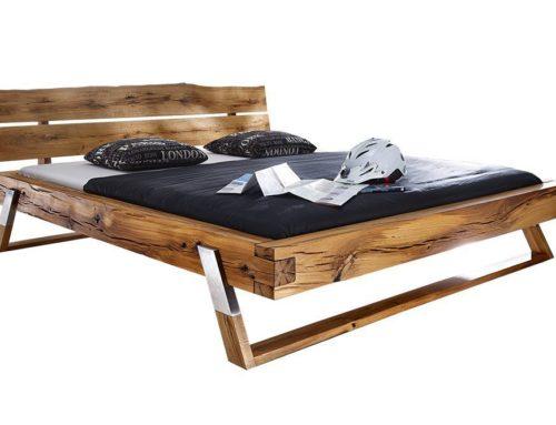 מיטה מעץ אלון – דגם B