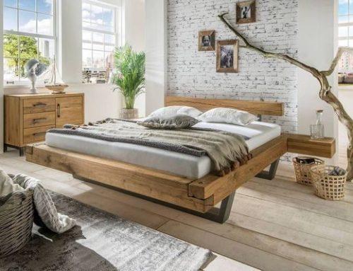 מיטה מעץ אלון – דגם C