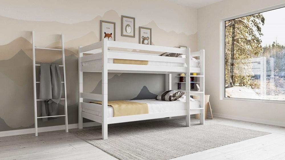 מיטה מעץ בוק דגם לני