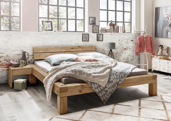 מיטה מקורות עץ אלון דגם A