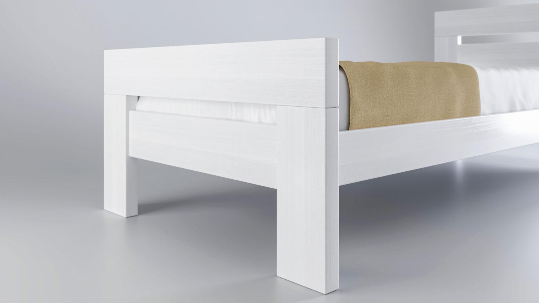 מיטת יחיד מעץ בוק