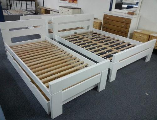 מיטת יחיד עץ מלא – דגם נקס