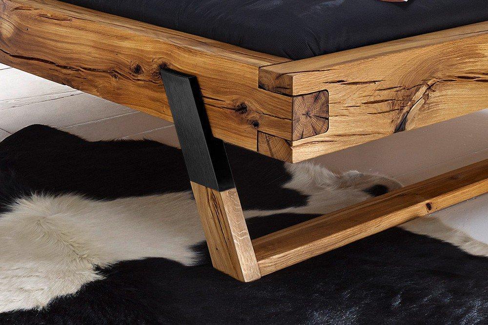 רגליים של מיטת עץ אלון - דגם B