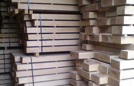 air dried oak beams
