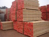 European imported oak lumber