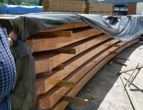 Hardwood beams vs. softwood beams