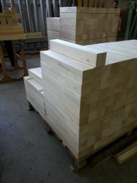 finger jointed pine wood boards