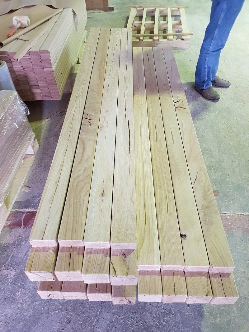 hard oak beams