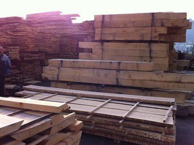 hardwood oak beams