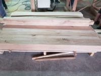 natural oak beams