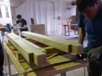 oak beams for beds