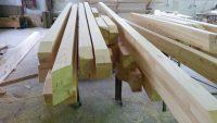 pine lumber wood beams