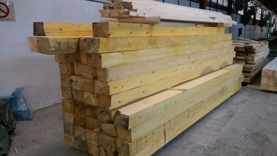 pine softwood beams