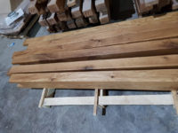 rustic oak beams
