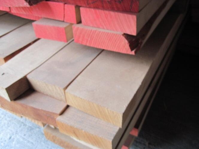 sawn hardwood beech timber