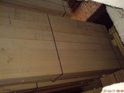 sawn oak timber
