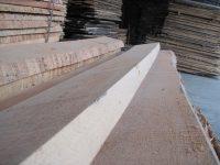 unedged beech timber