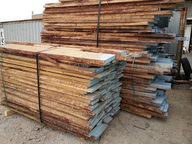 unedged oak lumber - AB class