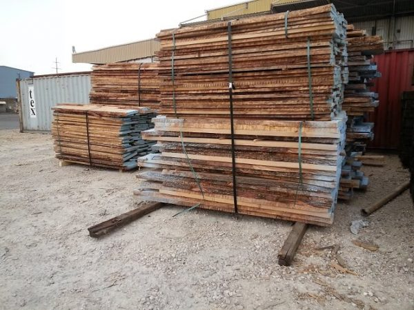 unedged oak lumber supply