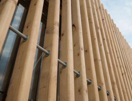 Spruce beams