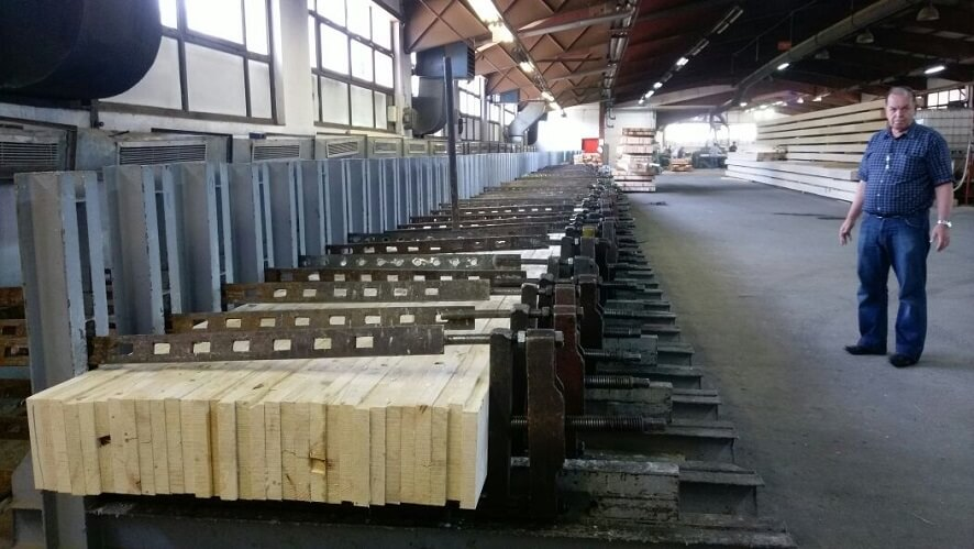 wood pine beams export from europe