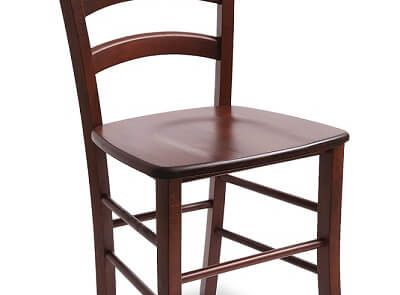 wooden dining chair from hardwood beech