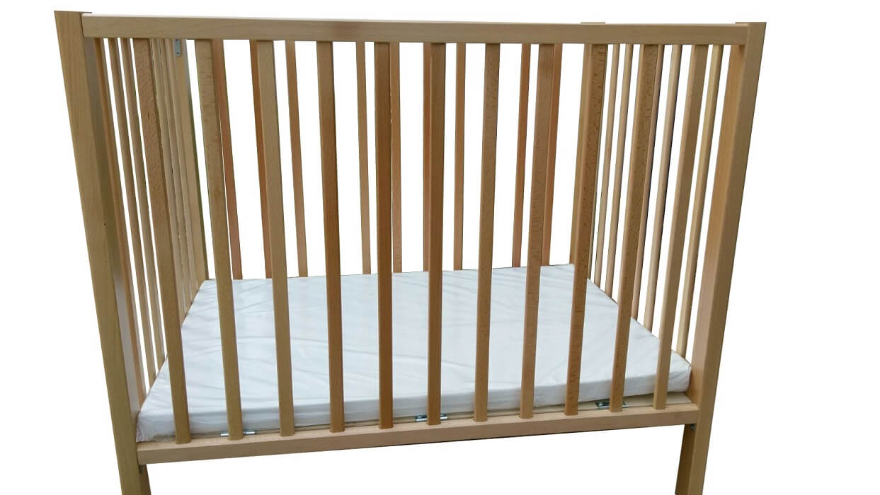 לול מעץ לתינוק - דגם אופיר