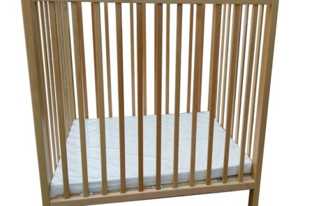solid wood crib - 499