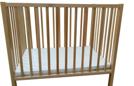 wooden baby crib - ofir Model