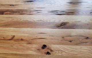 משטח עבודה מעץ אלון