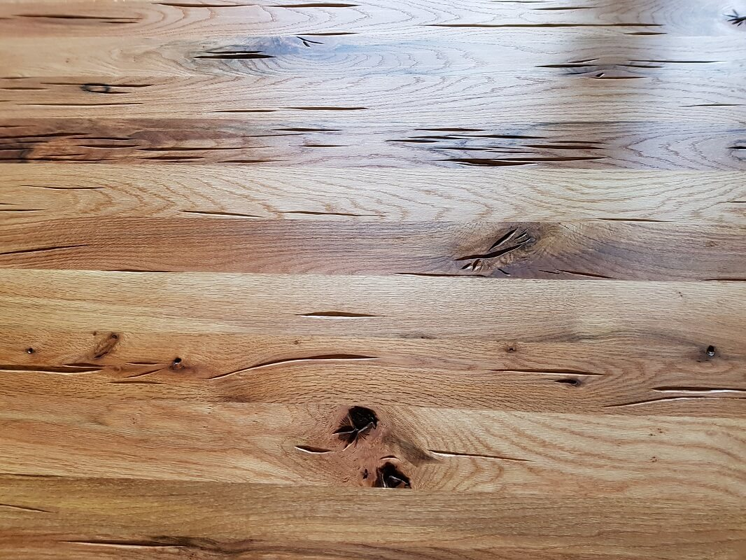Oak solid wood worktop
