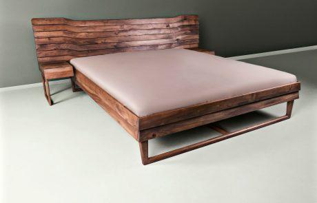 מיטה מעץ אגוז - Talas