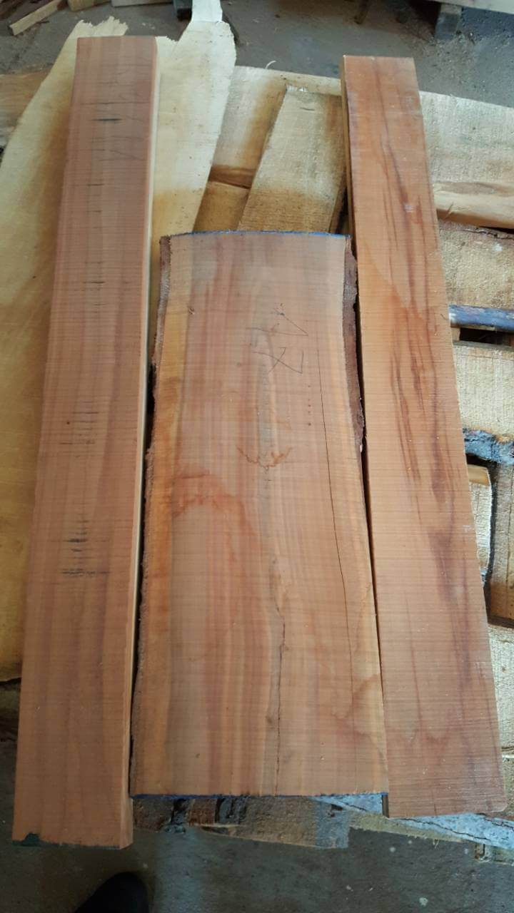 More Information On Unedged Walnut Wood Lumber