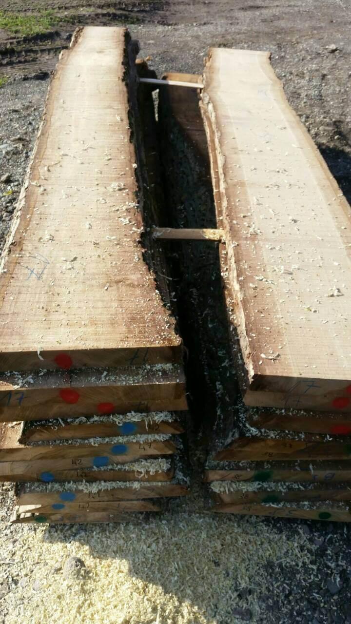Unfinished Walnut Wood Unedged Lumber Mijatovic Ltd