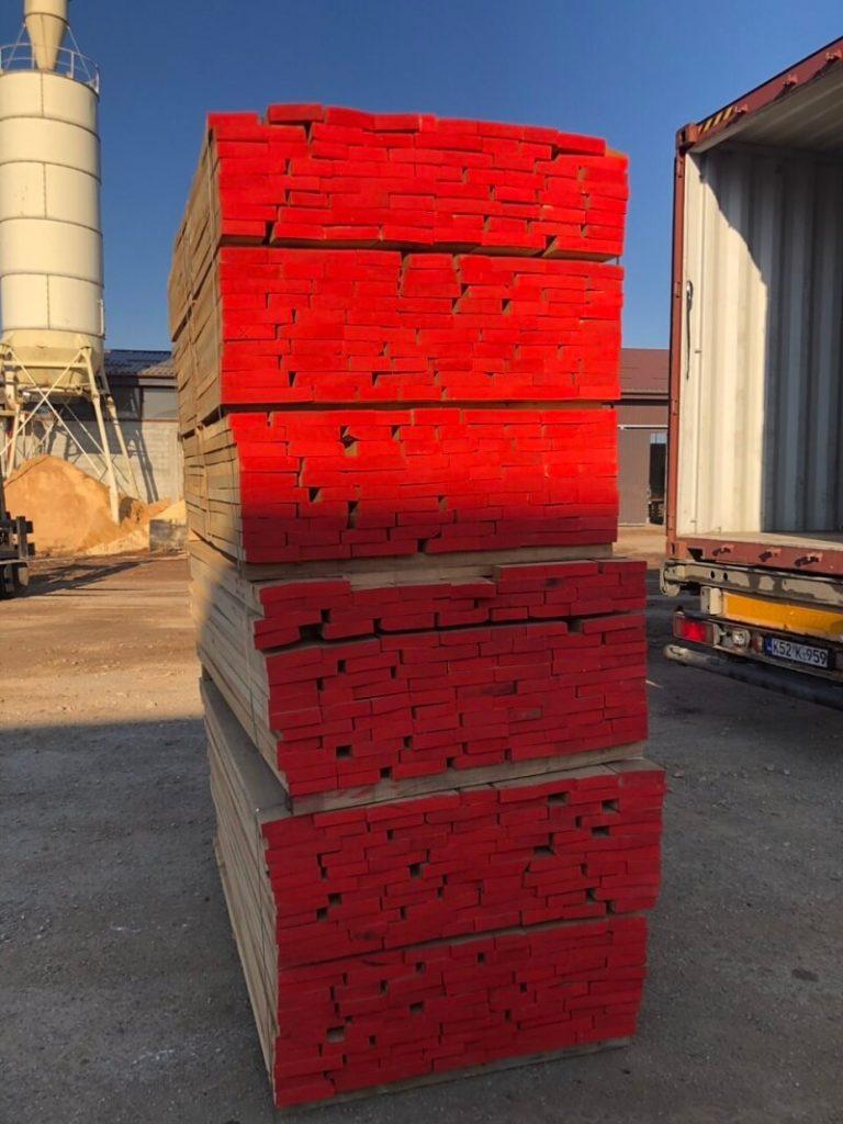 European Beech lumber