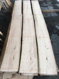 unedged ash lumber