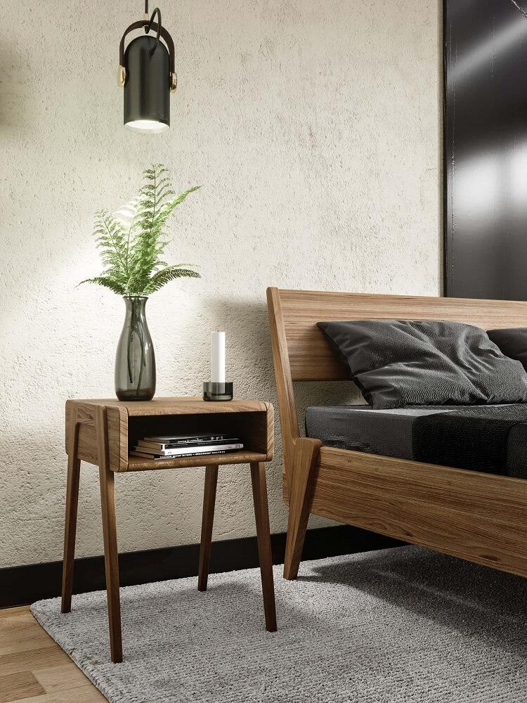 מיטה זוגית קטאניה כולל שידה