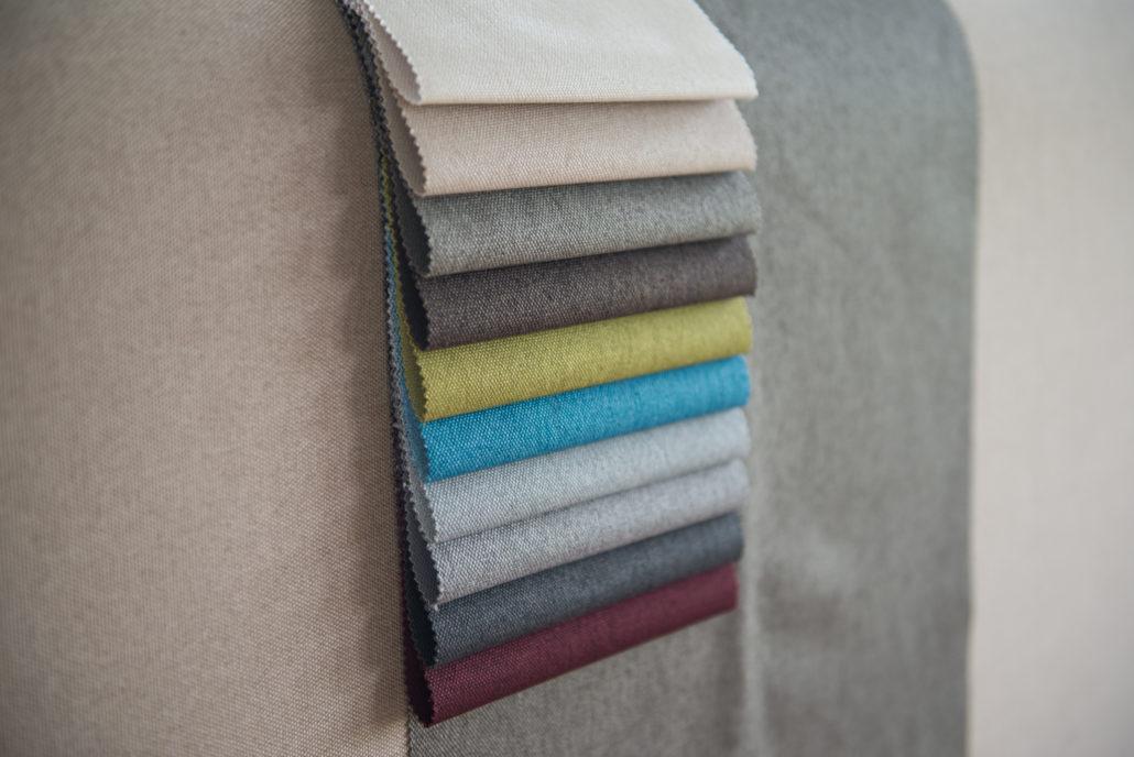 תבנית צבעים למיטה זוגית