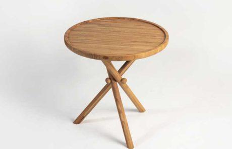 שולחן דוט מעץ אלון